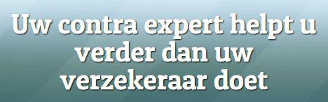 Contra expertise bij schade | Maximaal resultaat! | Schadeoplossing Nederland B.V.